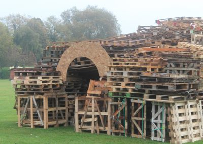 Bonfire Constructed