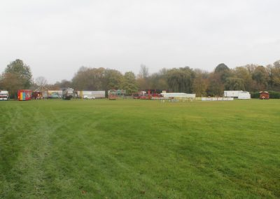 Fairground are setting up