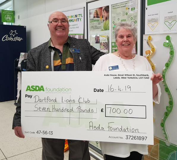 Asda Dartford support the Community Fayre