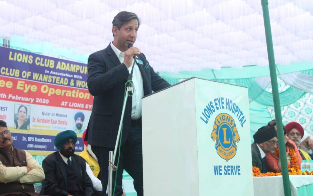 Ragbhir Sandhu elected 52nd President